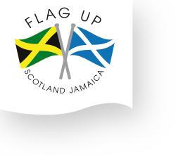 Flag Up Scotland Jamaica