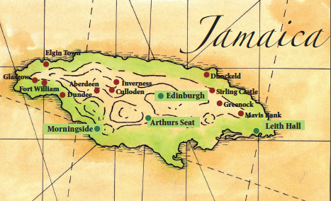 Scottish place names in Jamaica
